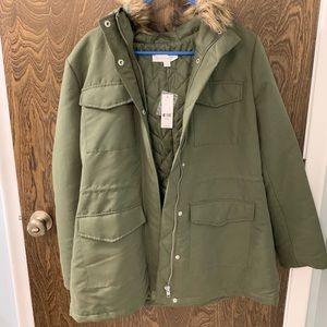 New York & Company Utility Parka Coat